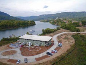 The new Tennessee Aquarium Aquatic Conservation Institute Facility
